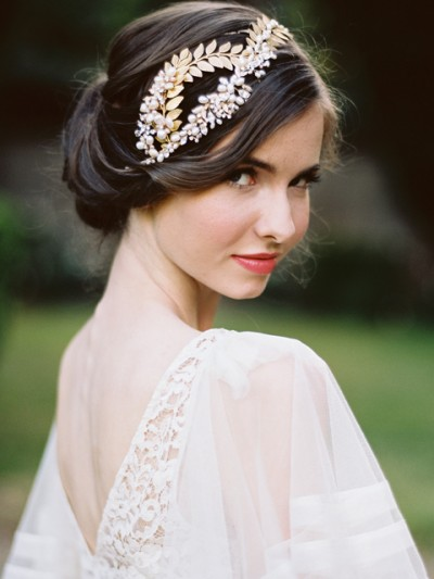Bohemian Wedding Headpiece---Jose-Vi