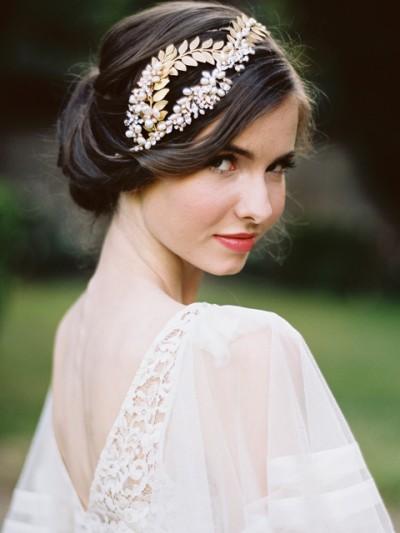 Bohemian Wedding Headpiece---Jose-Vi